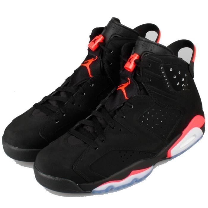 Nike Air Jordan 6 Retro 384664-023 BLACK INFRARED