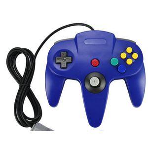 JOYSTICK - MANETTE Bleu câblé contrôleur système de jeu pour Nintendo