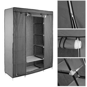 meuble colonne dressing achat vente meuble colonne dressing pas cher cdiscount. Black Bedroom Furniture Sets. Home Design Ideas