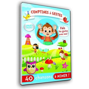 DVD MUSICAL Comptines à gestes - DVD animation
