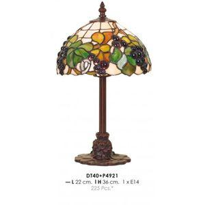 LAMPE A POSER Tiffany Lampe de table Diamètre 22cm, hauteur 36cm