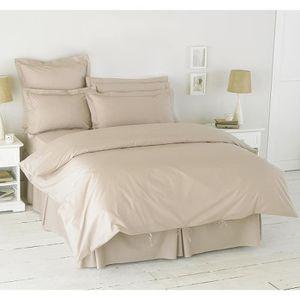 housse de couette 200x200 polycoton achat vente pas cher. Black Bedroom Furniture Sets. Home Design Ideas