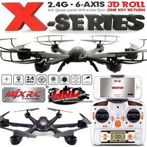 DRONE MJX X600C Noir avec Caméra C4005 et retour vidéo s
