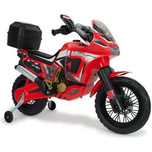 MOTO - SCOOTER INJUSA Moto électrique enfant Honda Africa Twin 6V