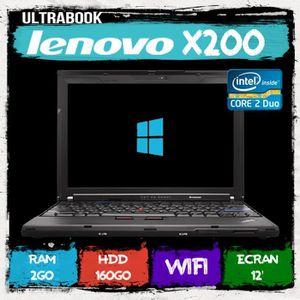 ORDINATEUR PORTABLE PC PORTABLE LENOVO  X200 ULTRABOOK