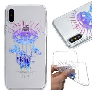 coque iphone x yeux