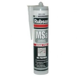 COLLE - PATE FIXATION Mastic MS3 - plomberie et couverture - 280 mL