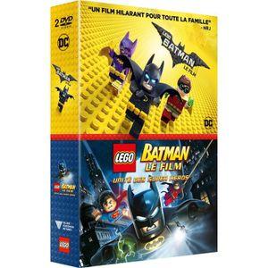 DVD DESSIN ANIMÉ Coffret Lego Batman le film et Lego Batman l'unité