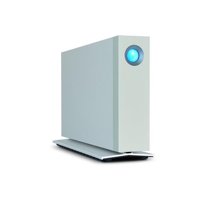 LACIE d2 Thunderbolt 2- Disque dur - 4 To - externe (de bureau) - USB 3.0 - 7200 tours/min
