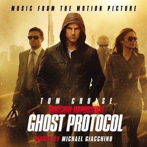 CD MUSIQUE DE FILM - BO Mission Impossible: Ghost Protocol