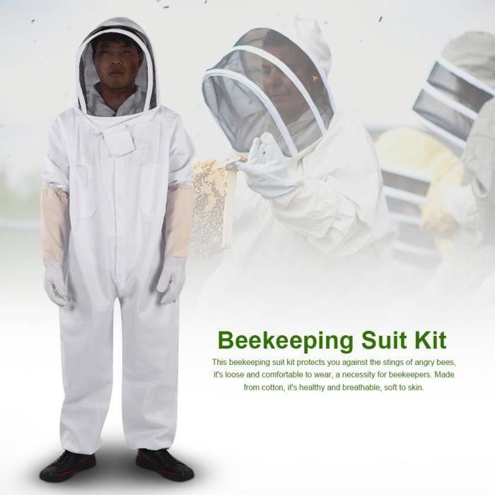 MATÉRIEL SYSTÈME NICOT  Kit de costume d'apiculture professionnel  Équipe