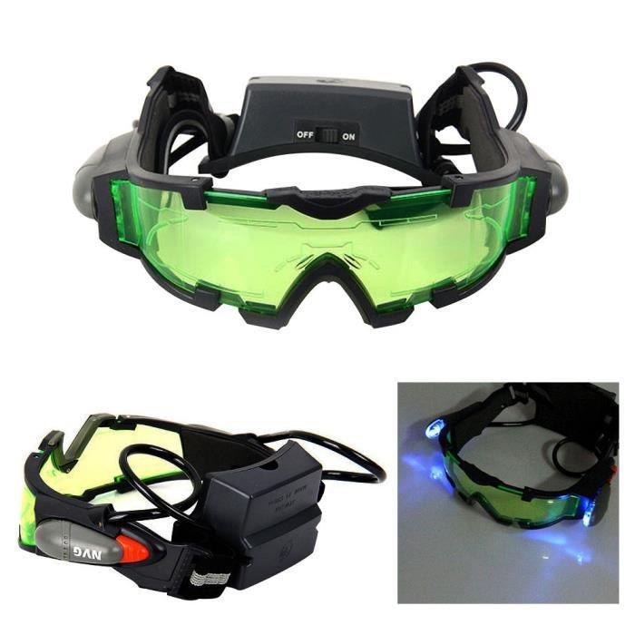 Réglable bande élastique de sécurité Lunettes de vision nocturne militaire  Eyeshield adf338f4dd3b