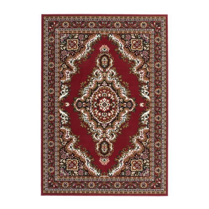 Flachflor Tapis Perse Style Tapis Rouge Frontiere Tapis Oriental