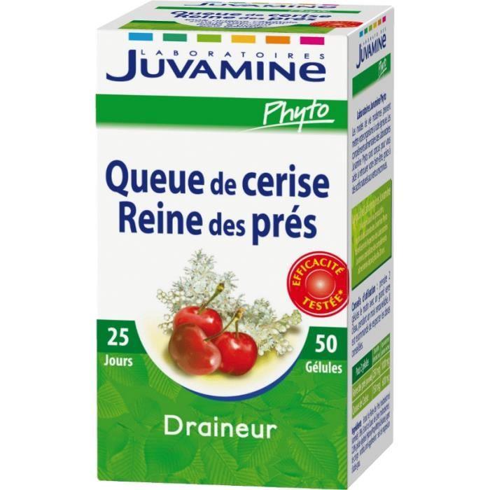JUVAMINE Reine des près queue de cerise 50 gélules - 15,6g ...
