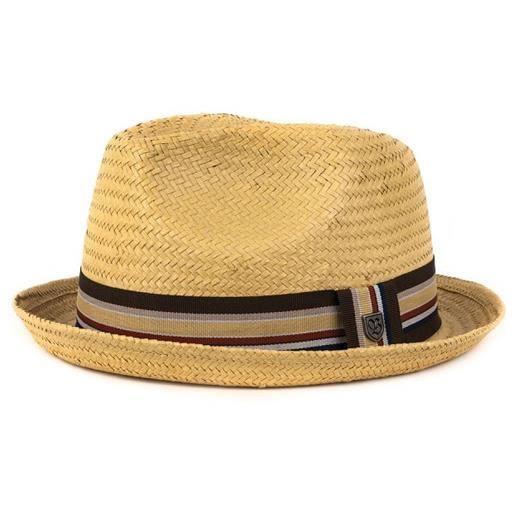 Chapeaux homme Brixton Castor Tan Beige - Achat   Vente chapeau ... 7d2c7f35345
