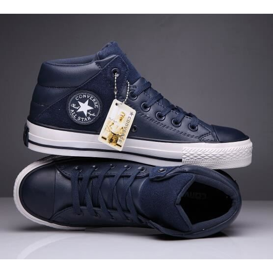 82a1d3d6e66d Converse ALL Star Homme Chuck Taylor Mid lace up Basket Chaussures ...