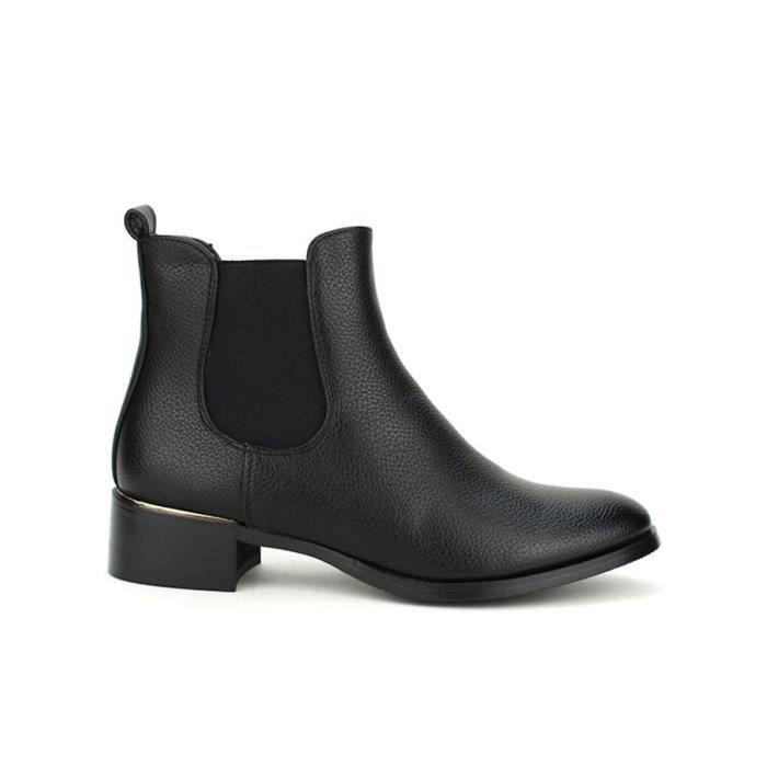 bottine - boots, Bottines Noir Chaussures Femme, Cendriyon