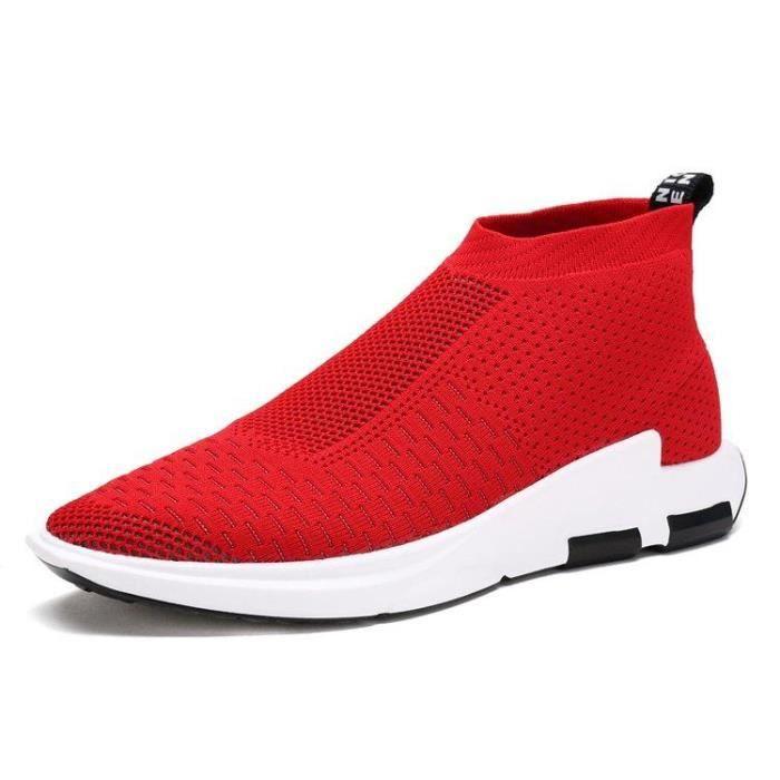 Chaussure Course A Pied Respirabilité Dexterity Souplesse Mode Compensé Slip-On Casual Homme rouge 40 R59390263_8896