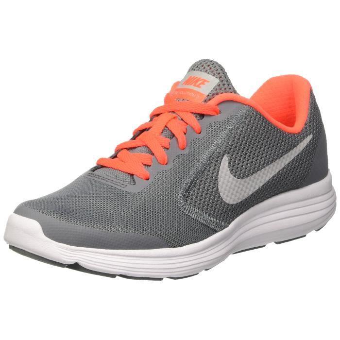 Nike Revolution 3 (gs) Chaussures de course pour enfants RE3OR