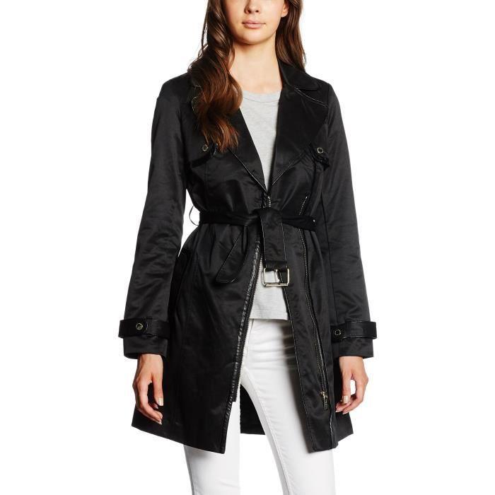 2b10d66279c Morgan manteau femmes 1WALRJ Taille-42 Noir Noir - Achat   Vente ...