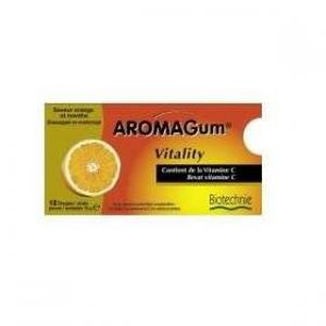 CHEWING-GUM Aromagum Vitality - 12 Chewing-gum aux huiles e…