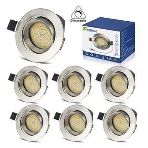 SPOTS - LIGNE DE SPOTS Spots Encastrables LED 5W Dimmable Interieur Plafo