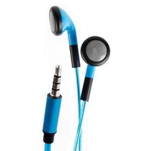 CASQUE - ÉCOUTEURS Ecouteurs LED bleus + adaptateur lightning vers ja
