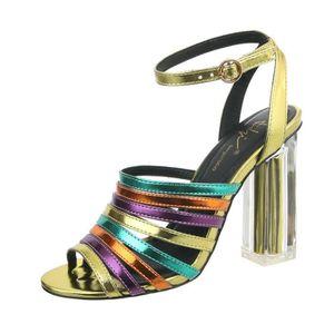 Chaussures à talon jaune - Achat   Vente Chaussures à talon jaune ... 34bf645d1a9f