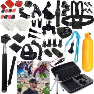 PACK CAMERA SPORT 59 à 1 pour GoPro accessoires Kit Set pour Go Pro