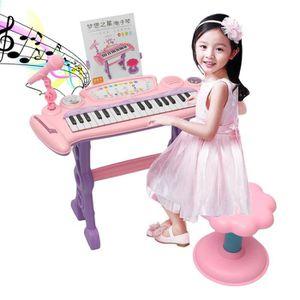 CLAVIER MUSICAL TEMPSA Clavier électronique 37 Clé Piano Organ Mic