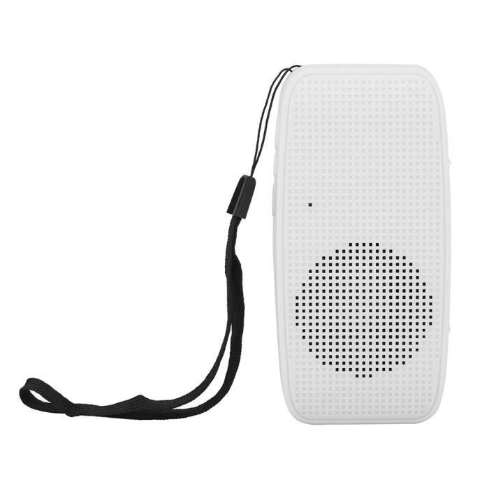 Portable Bluetooth Stéréo Sans Fil Audio Carte Sd Haut-parleur Dragonne Pour Samsung Lly81221104wh