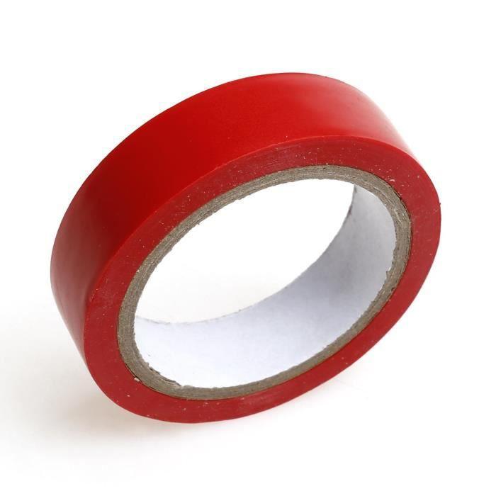 12Cm Ruban Adhésif Isolant Couleur Rouge Ruban Étanche Pvc - Achat
