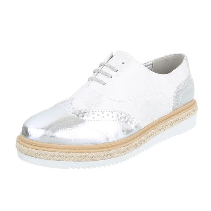 Laceter Argent marron noir 41 Femme Clair beige marron Chaussures Argent blanc neurs Fl qcn6yKBt