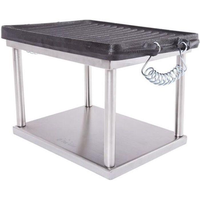PLANCHA DE TABLE Plancha de table au Bioéthanol BB04AC, une option