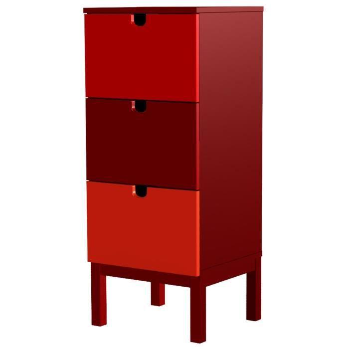 commode rouge. Black Bedroom Furniture Sets. Home Design Ideas