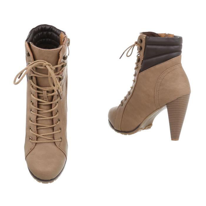 Sandales Peep Toe Chaussures de plate-forme de talon mince 5747548 30ZWzO