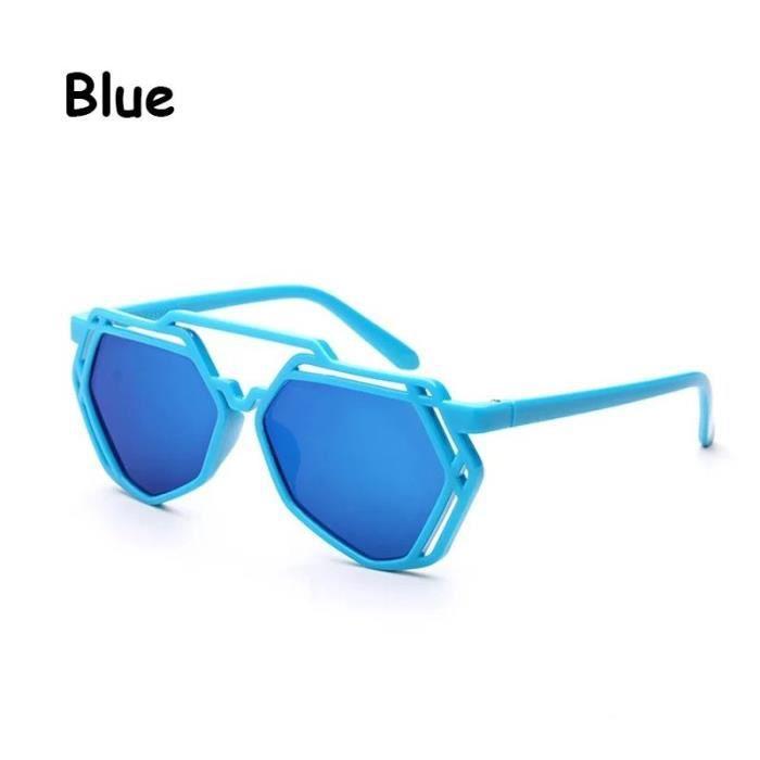 Lunettes de soleil personnalité d bleu Noir bleu Noirargent de l » enfant