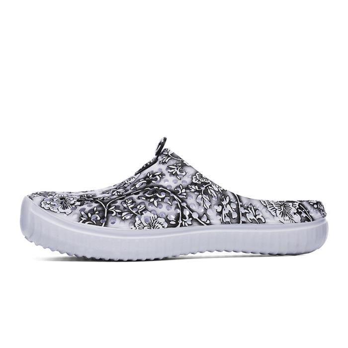 Femmes noir Dcontractes Plat D't Fleur Mesdames Chaussures Pantoufles Roman Sandales 6qRgBxR5