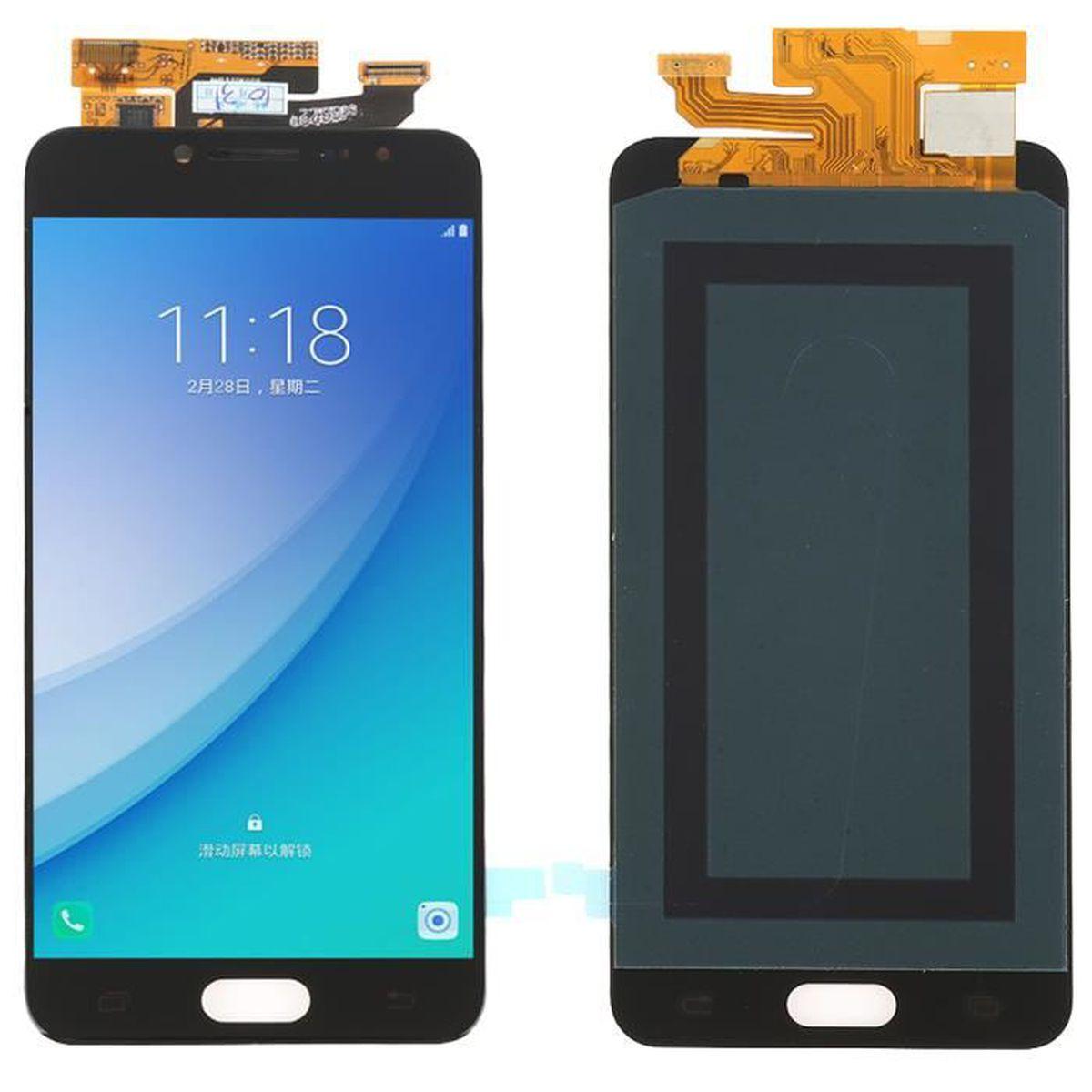 ECRAN DE TÉLÉPHONE Noir Ecran LCD complet vitre tactile pour Samsung