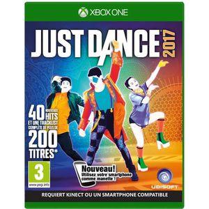 JEU XBOX ONE Just Dance 2017 - Jeu Xbox One