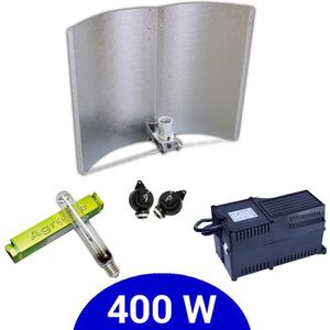 Eclairage horticole Kit lampe 400W HPS Agrolite + Agrolite class 2 + A