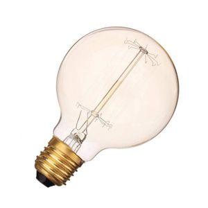 AMPOULE - LED Ampoule E27 G80 40W Filament Lumière Rétro Antique
