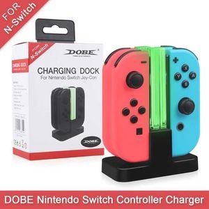 DOCK DE CHARGE MANETTE DOBE Charging Dock Station for Nintendo Switch Joy