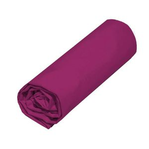 DRAP HOUSSE COTE DECO Drap housse 140x190 cm - Violet