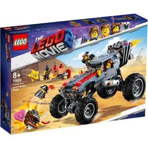 ASSEMBLAGE CONSTRUCTION LEGO® 70829 Le buggy d'évasion d'Emmet et Lucy ! -