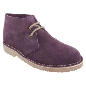 BOTTINE Roamers - Bottines en cuir - Femme Bordeaux