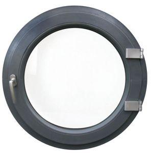 FENÊTRE - BAIE VITRÉE Fenêtre ronde à la française gauche 100 cm Anthrac