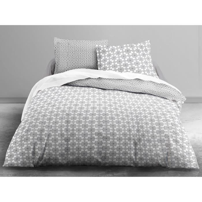 finlandek parure de couette klaara 100 coton 1 housse de couette 220x240. Black Bedroom Furniture Sets. Home Design Ideas