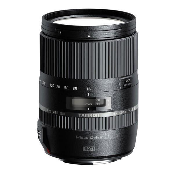 TAMRON 16-300mm F/3.5-6.3 Di II VC PZD MACRO CANON - Pour appareil photo numérique Reflex