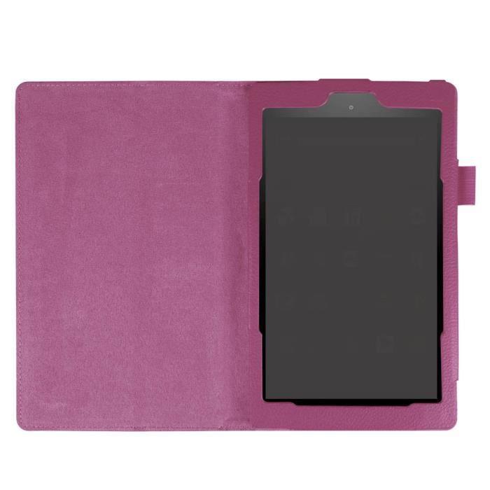 housse stand folio housse en cuir pour amazon fire hd 8 6 gen 2016 pp cff61006401pp 1904. Black Bedroom Furniture Sets. Home Design Ideas